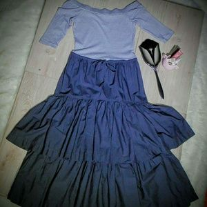 Rebecca Taylor Le Vie Peplum Dress 👗